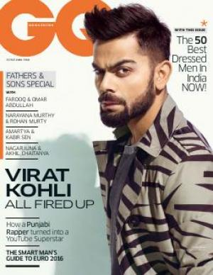 June 2016 + GQ India's Best Dressed Men 2016 - Read on ipad, iphone, smart phone and tablets.