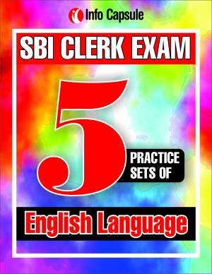 SBI Clerk- 5 English Language Practice Sets
