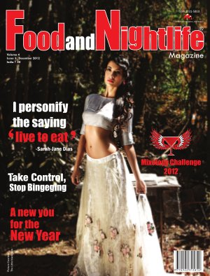 Food and Nightlife Magazine December 2012