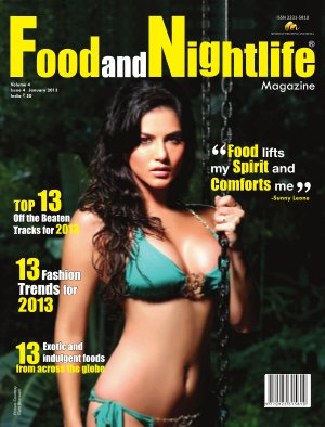 Food and Nightlife Magazine January 2013