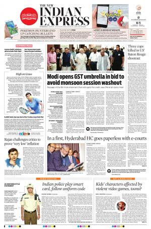 New indian express (indulge) – hyderabad on friday 7th april 2017.