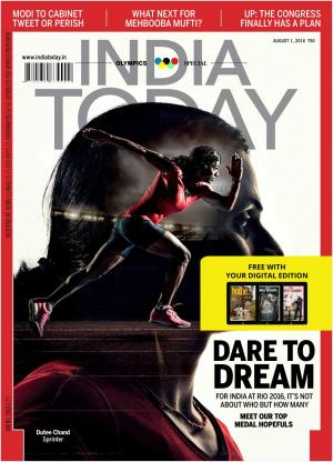 India Today-1st August 2016 - Read on ipad, iphone, smart phone and tablets.