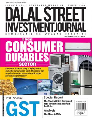 Dalal Street Investment Journal Vol 31 Issue no 17  August 07, 2016 - Read on ipad, iphone, smart phone and tablets.