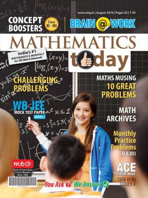Mathematics Today- August 2016 - Read on ipad, iphone, smart phone and tablets.