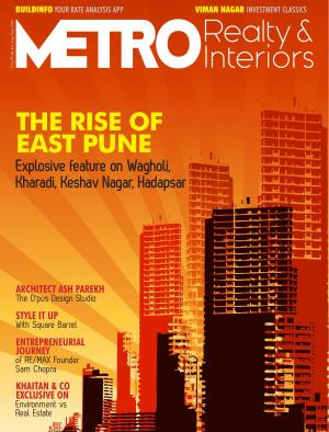 Metro Realty & Interiors - August Issue  - Read on ipad, iphone, smart phone and tablets.