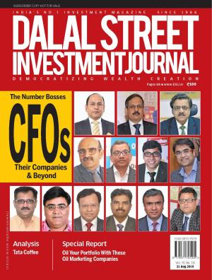 Dalal Street Investment Journal Vol 31 Issue no 18  August 21, 2016 - Read on ipad, iphone, smart phone and tablets.