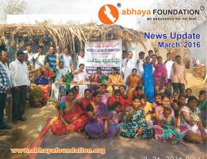 abhaya News Update - March 2016
