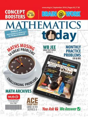 Mathematics Today- September 2016