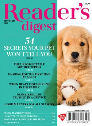 Reader's Digest- September 2016 - Read on ipad, iphone, smart phone and tablets.