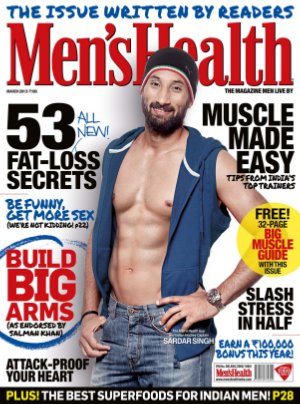 Men's Health-March 2013 - Read on ipad, iphone, smart phone and tablets.