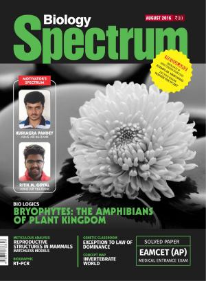 Spectrum Biology - Aug 2016 - Read on ipad, iphone, smart phone and tablets.