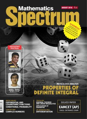 Spectrum Mathematics - Aug 2016