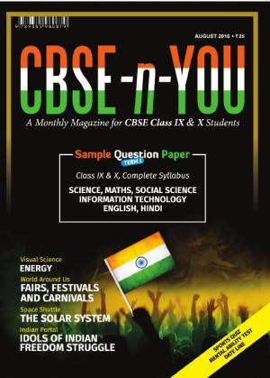 CBSE-n-YOU - Read on ipad, iphone, smart phone and tablets.