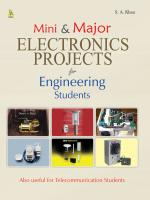 Mini & Major Electronics Projects