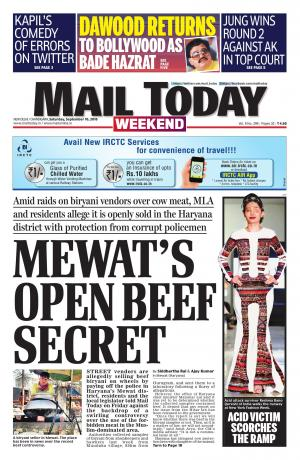 Mail Today issue, September 10, 2016 - Read on ipad, iphone, smart phone and tablets.