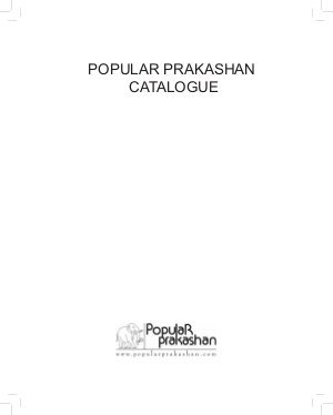 Popular Prakashan Catalogue 2013 - Read on ipad, iphone, smart phone and tablets