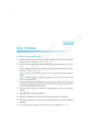 NCERT Exemplar Questions & Solutions: CBSE Class 10 Mathematics Chapter 1 – Real Numbers - Read on ipad, iphone, smart phone and tablets.