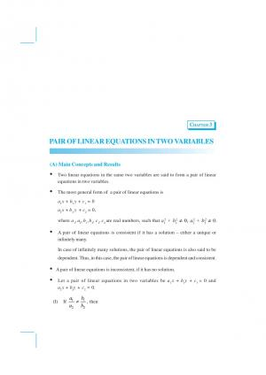 NCERT Exemplar Mathematics Chapter 3 - Pair of Linear Equations in Two Variables - Read on ipad, iphone, smart phone and tablets.