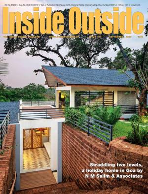 Inside Outside (September 2016) - Read on ipad, iphone, smart phone and tablets.