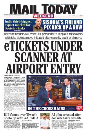 Mail Today, September 17, 2016 - Read on ipad, iphone, smart phone and tablets.