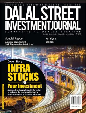 Dalal Street Investment Journal Vol 31 Issue no 21  October 02, 2016 - Read on ipad, iphone, smart phone and tablets.