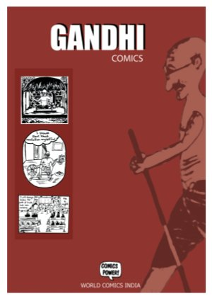 Gandhi Comics (English) - Read on ipad, iphone, smart phone and tablets.
