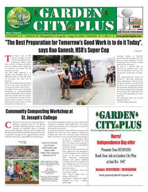 Gardencityplus - Read on ipad, iphone, smart phone and tablets.