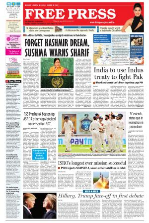 The Free Press Journal - Ujjain Edition - Read on ipad, iphone, smart phone and tablets