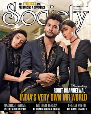 SOCIETY OCTOBER 2016 + SOCIETY ICON 2016