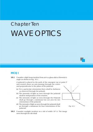 NCERT Exemplar Questions and Answers CBSE Class 12 Physics Chapter 10 – Wave Optics  - Read on ipad, iphone, smart phone and tablets.