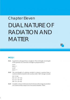 NCERT Exemplar Questions and Answers CBSE Class 12 Physics Chapter 11 – Dual Nature of Radiation and Matter - Read on ipad, iphone, smart phone and tablets.