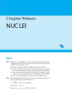 NCERT Exemplar Questions & Solutions CBSE Class 12 Physics – Chapter 13 Nuclei - Read on ipad, iphone, smart phone and tablets.