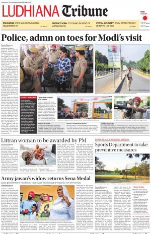Ludhiana Tribune - Read on ipad, iphone, smart phone and tablets.