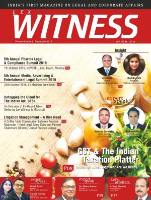 Lex Witness September 2016