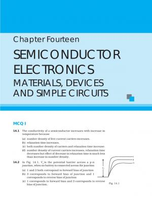NCERT Exemplar CBSE Class 12 Physics – Chapter 14 Semiconductor Electronics Materials, Devices and Simple Circuits - Read on ipad, iphone, smart phone and tablets.