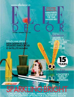 Elle Decor October - November 2016