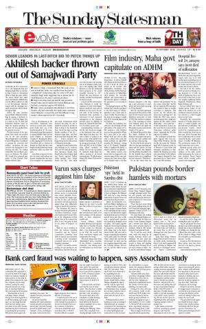 Bhubaneswar - The Statesman  - Read on ipad, iphone, smart phone and tablets.