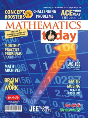 Mathematics Today- November 2016