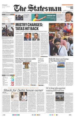 Delhi - The Statesman - Read on ipad, iphone, smart phone and tablets