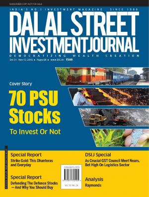 Dalal Street Investment Journal Vol 31 Issue no 24  November 13, 2016