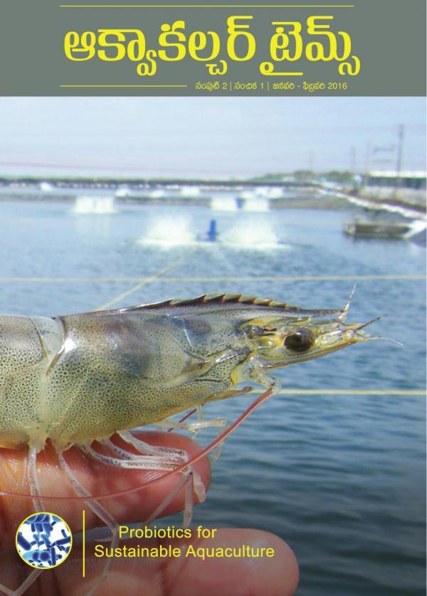Aquaculture Times (Telugu Version) - Probiotics In