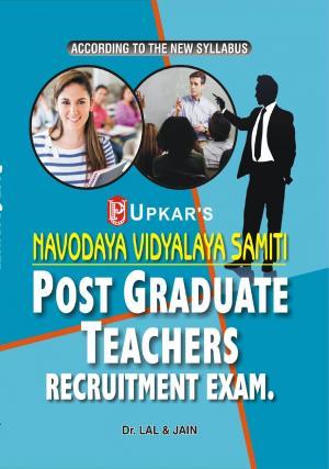 Navodaya Vidyalaya Samiti P.G.T. Recruitment Exam. - Read on ipad, iphone, smart phone and tablets.