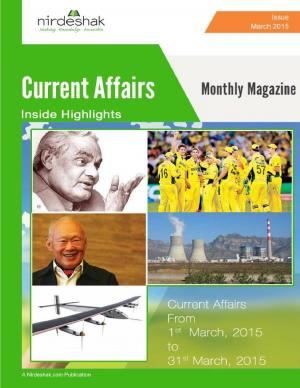 Current Affairs March 2015 - Read on ipad, iphone, smart phone and tablets.