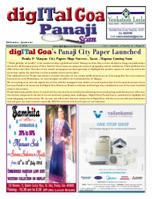 Digital Goa - Read on ipad, iphone, smart phone and tablets.