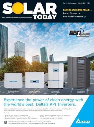 Solar Today - Read on ipad, iphone, smart phone and tablets.