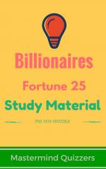 Fortune 25 World's Richest Billionaires Study Material - Read on ipad, iphone, smart phone and tablets