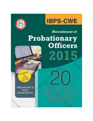 Varada's IBPS CWE PO Recruitment of Probationary Officers 2015 Exam 20 Practice Papers (2014 Solved Paper Included)