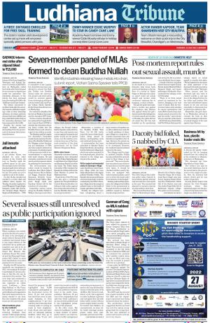 Ludhiana Tribune - Read on ipad, iphone, smart phone and tablets.