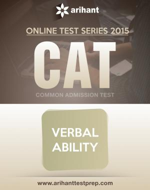CAT Test Series 2015 -  Verbal Ability - Read on ipad, iphone, smart phone and tablets.