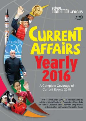 Current Affairs Yearly - 2016 (Hindi) - Read on ipad, iphone, smart phone and tablets.